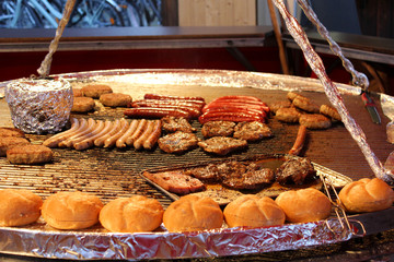 barbecue street food