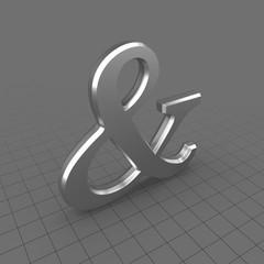 Ampersand Symbol 1