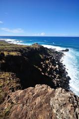 Fototapete - イースター島の海岸