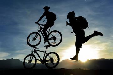 sıradışı bisikletçi konsepti