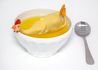 Rubber Chicken Soup-Cure for Funny Fever