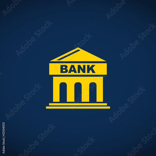 bank building icon - photo #13