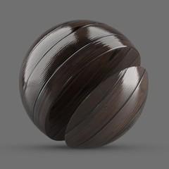Dark brown African mesquite planks