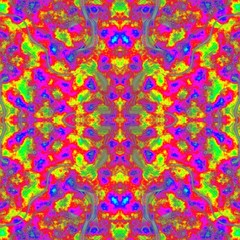 Colorful kaleidoscopic positive energetic amazing bright image