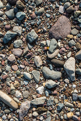river rocks background
