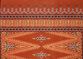 Pattern of beautiful South East Asean traditional batik