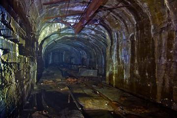 Creepy ruined abandoned coal mine in Tkvarcheli, Abkhazia, Georgia