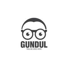 geek cool logo icon