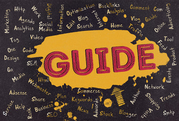 Guide, Word Cloud, Blog
