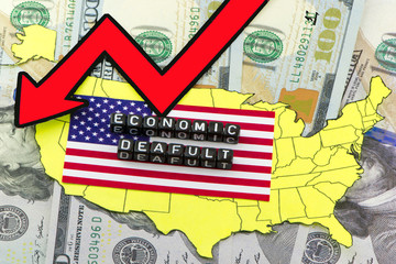 The economic concept of default in the US