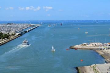 Vieux port et fortifications de La Rochelle, France