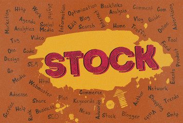 Stock, Word Cloud, Blog