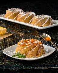 Mini Honey Bundt Cakes