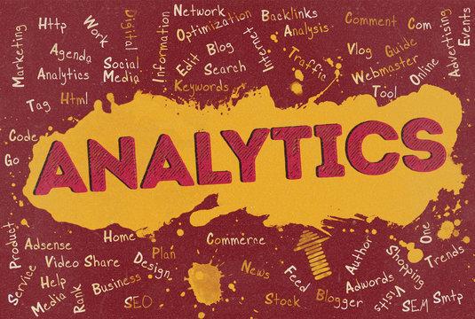 Analytics, Word Cloud, Blog