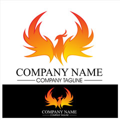 Phoenix Logo for trademark or brand identity