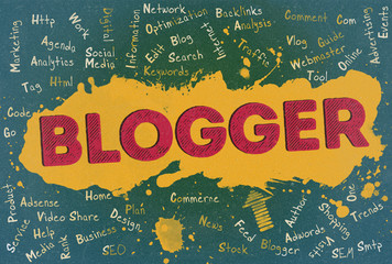 Blogger, Word Cloud, Blog