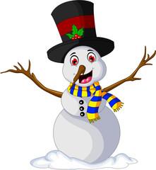 Funny Xmas Snowman for you design