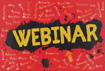 Webinar, Word Cloud, Blog