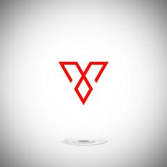 V, Logo V, Letter V, Symbol V, Icon V