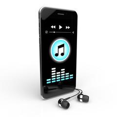 Smartphone Kopfhörer Musik
