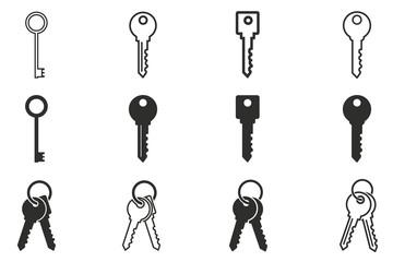 Key icon set.