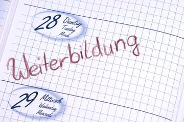 Weiterbildung - Terminkalender