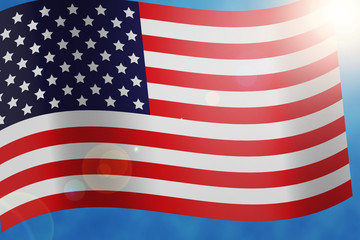 USA Flag Elections in America