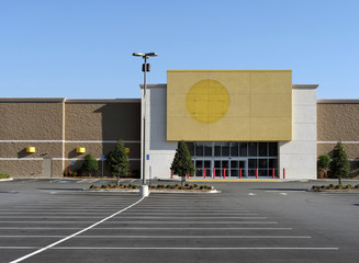 A big box store that has recently gone out of business.