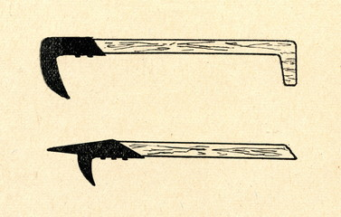 Tools of log drivers and rafters