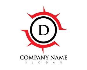 Circle D Letter Logo