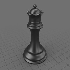 Chess Piece Queen 1