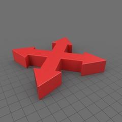 Symbol Way Arrow