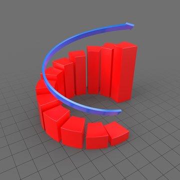 Symbol Spiral Graph