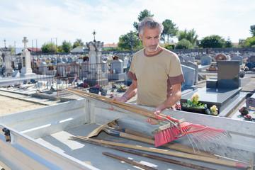 graveyard maintenance personnel