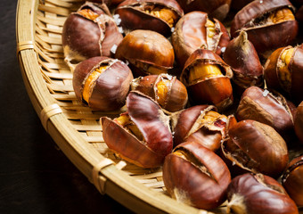 Roasted Chestnuts, ready to eat