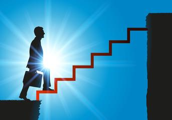 Carrière - Escalier - ascension - hiérarchie