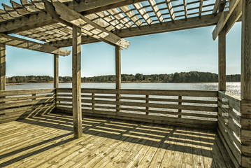 Deck In The Lake