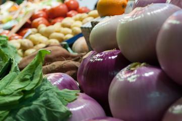 Cipolle e verdure