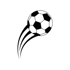 balloon soccer isolated icon vector illustration design
