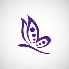 butterfly spa logo