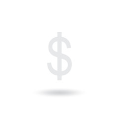 Money Icon vector isolated on white background