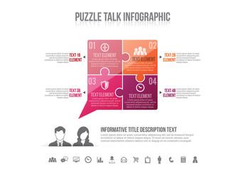 Puzzle Talk Infographic