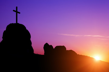 Cross and Sunrise