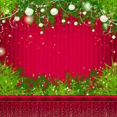 Card with Christmas.