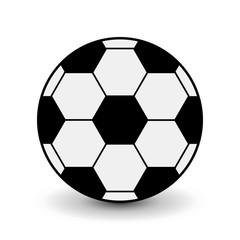 Football soccer ball icon.
