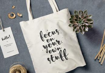 Tote Bag Branding Mockup