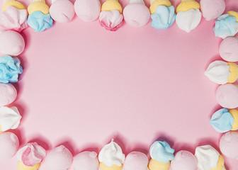 marshmallow cornice sfondo