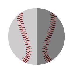baseball ball sport isolated icon vector illustration design