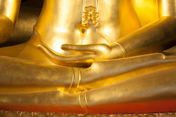 Buddhist statue hand