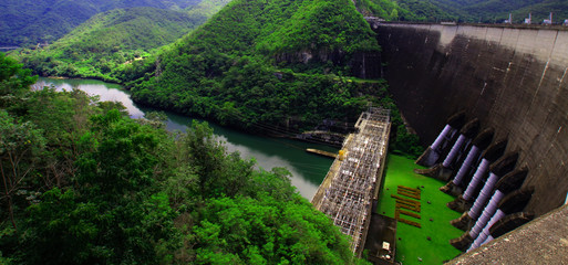 Photo sur Plexiglas Barrage dams in tak Thailand